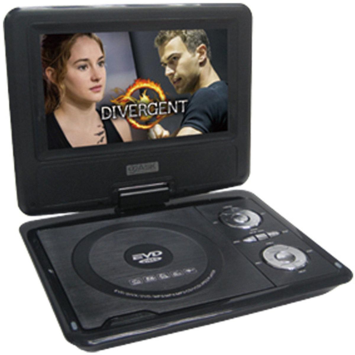 """7.5""""寸高清多功能手提DVD 黑色 ASW0005"""
