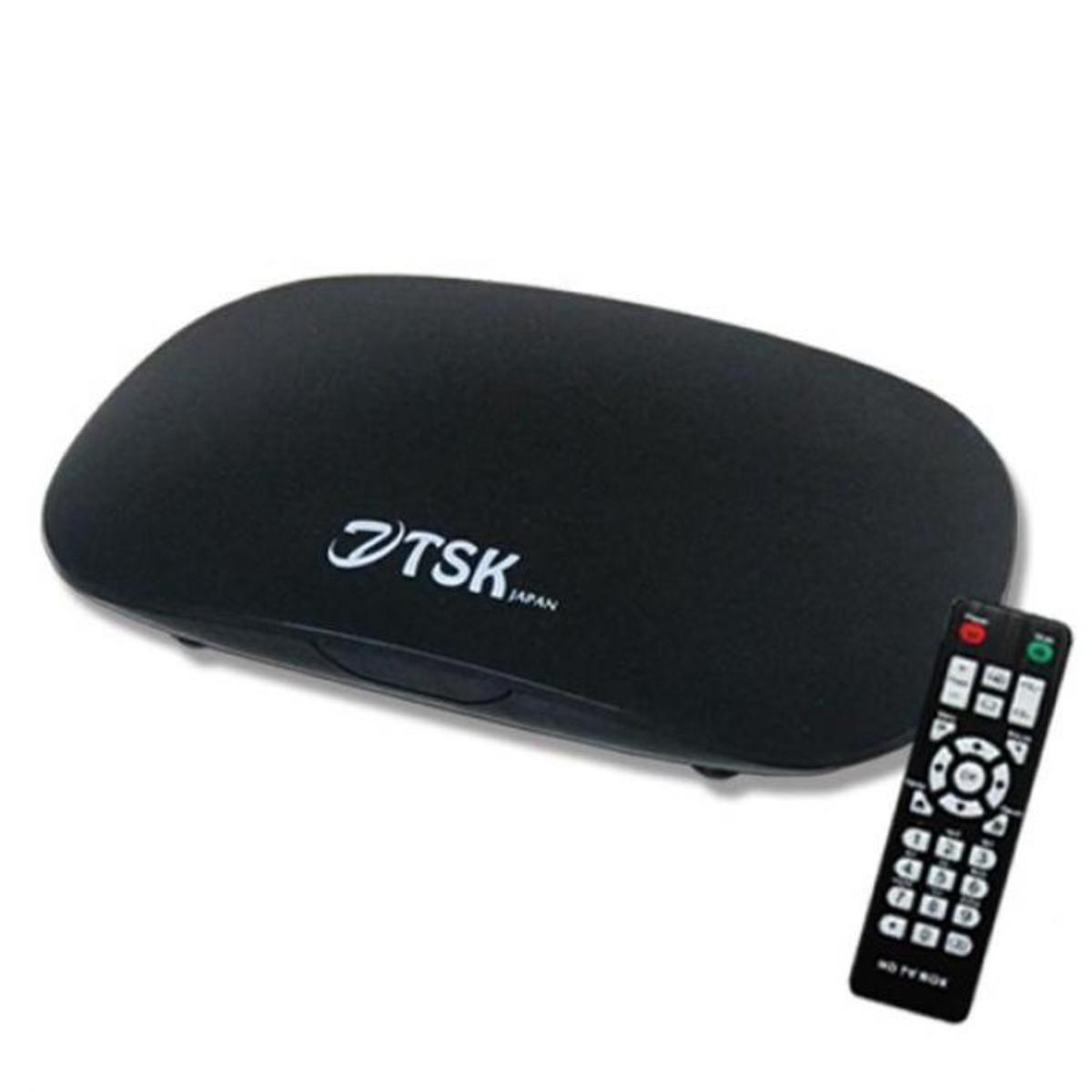 日本TSK SB009 (國際版)四核智能網絡電視盒 黑色 ASW0006