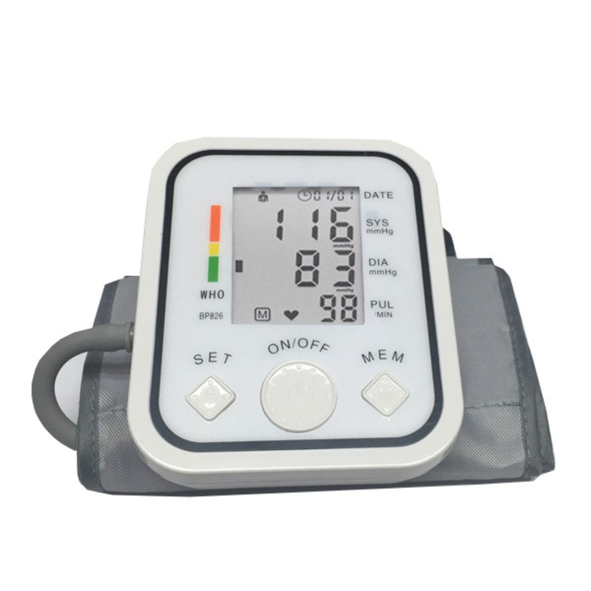 BP826專業級手臂式智能血壓計 白色 ASW0015