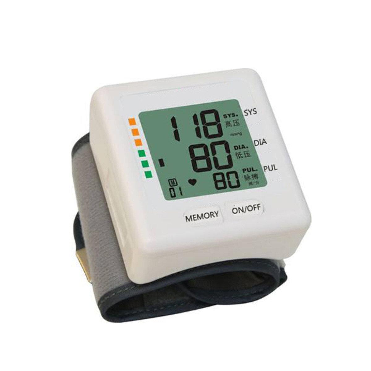 BP618專業級手腕式智能血壓計 白色 ASW0016