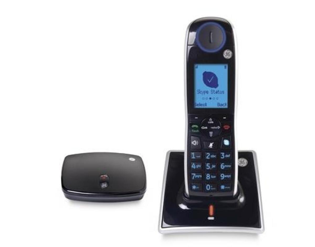 GE美國通用Skype + 1.8 GHz數碼無線電話, GE31591