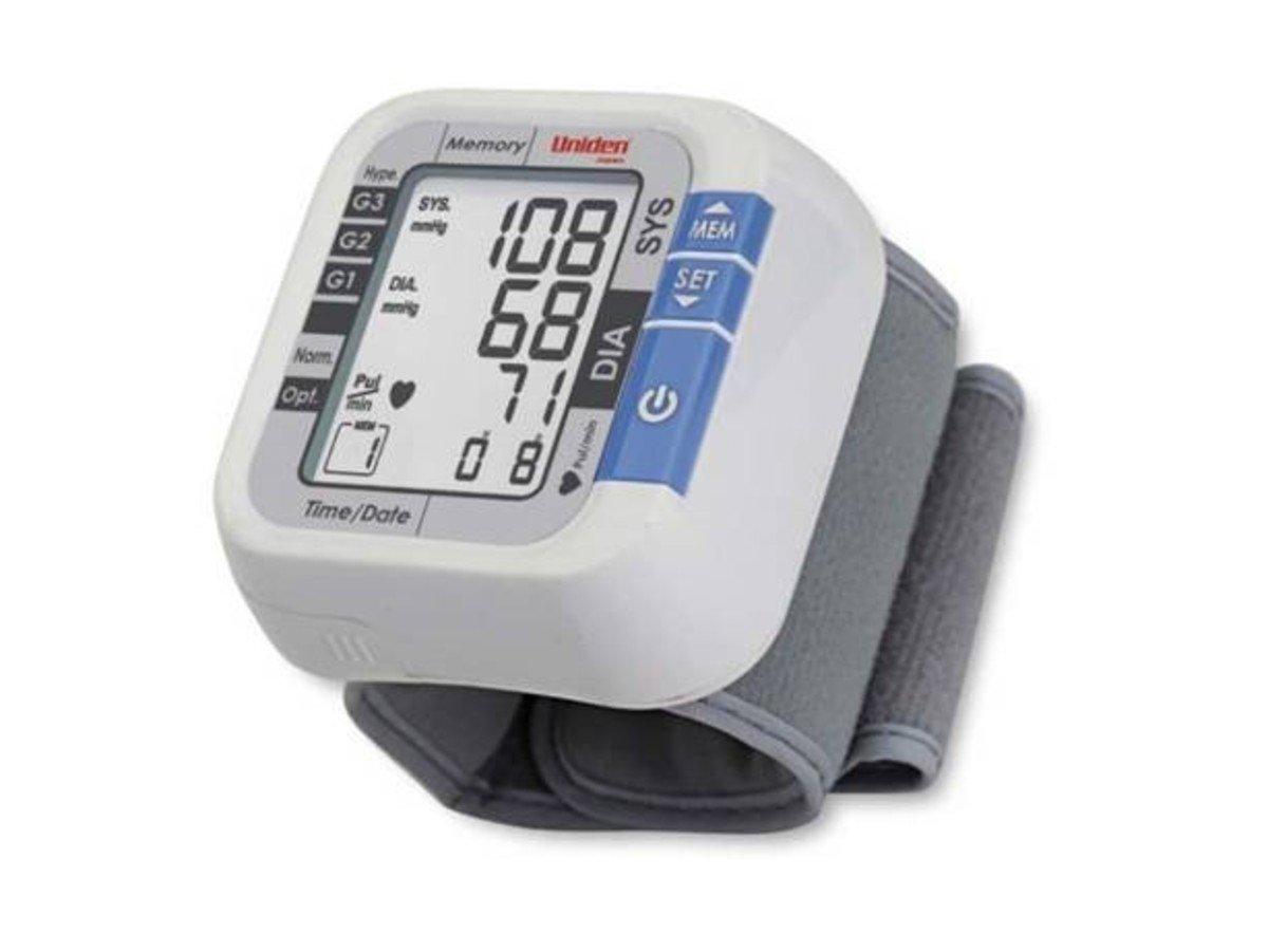 Uniden日本 手腕式電子血壓計  , AM2101