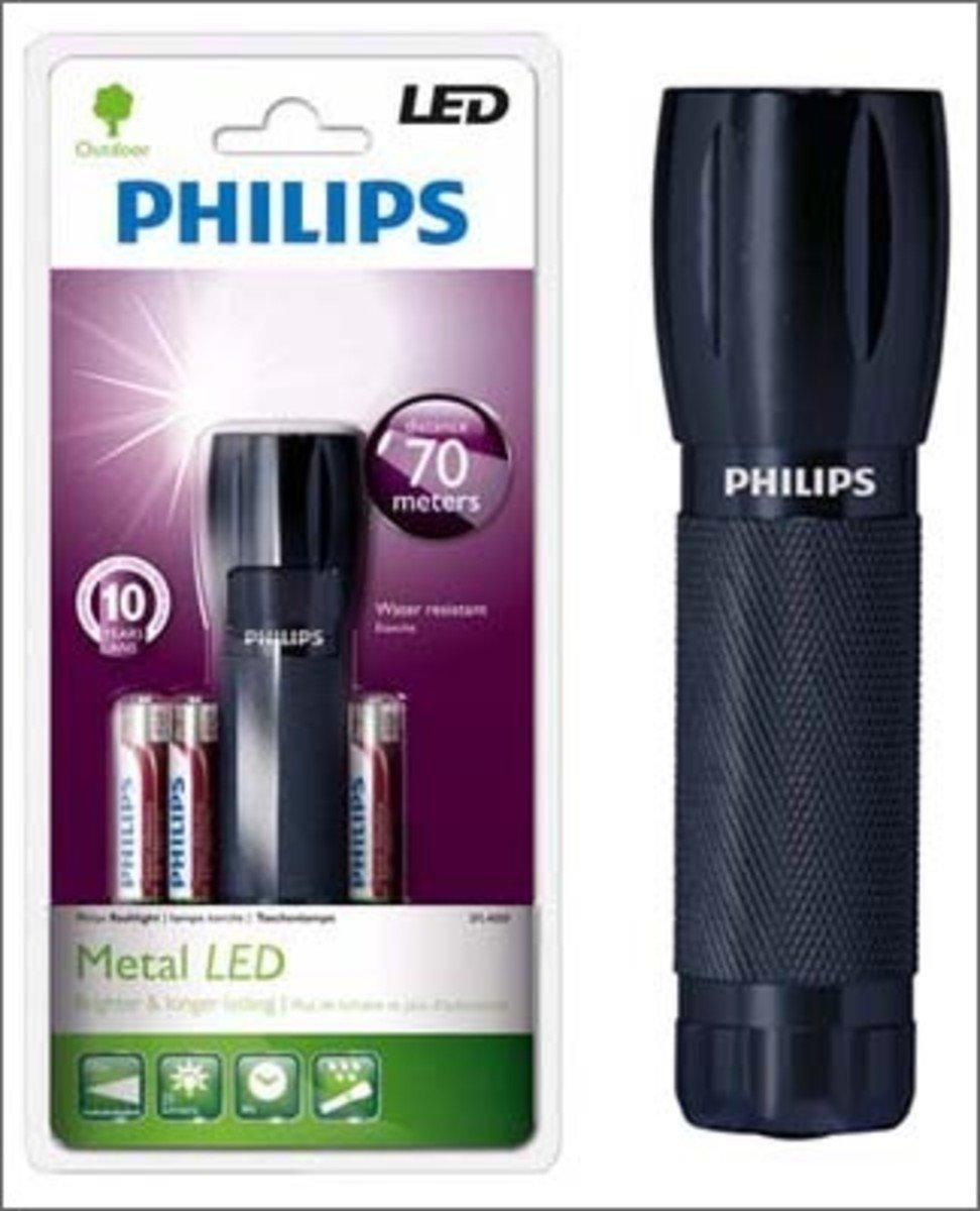 Philip 飛利浦 鋁合金超亮光 LED 手電筒, SFL4000