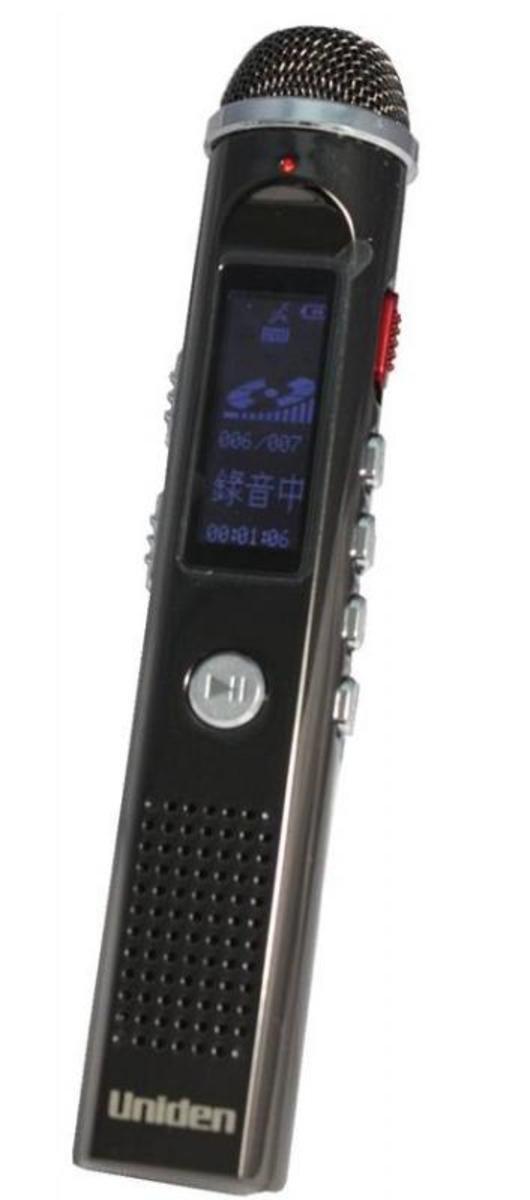 Uniden日本 8GB錄音筆(內置FM收音機) , AA1101
