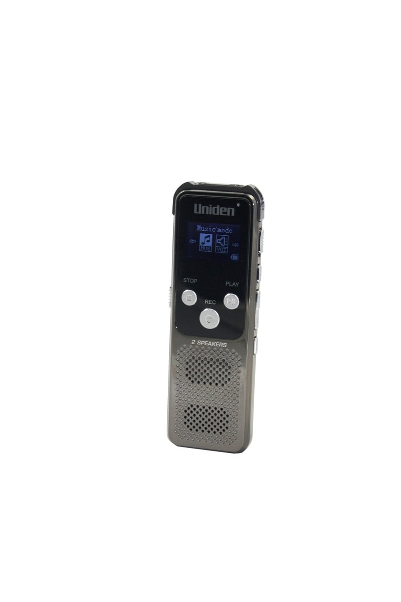 Uniden日本 16GB錄音筆(內置FM收音機) , AA1104
