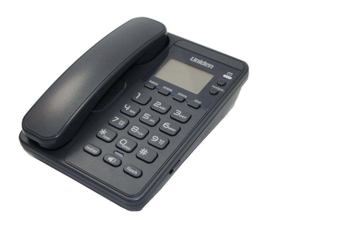 Uniden日本來電顯示免提有線電話, AS7404 灰色