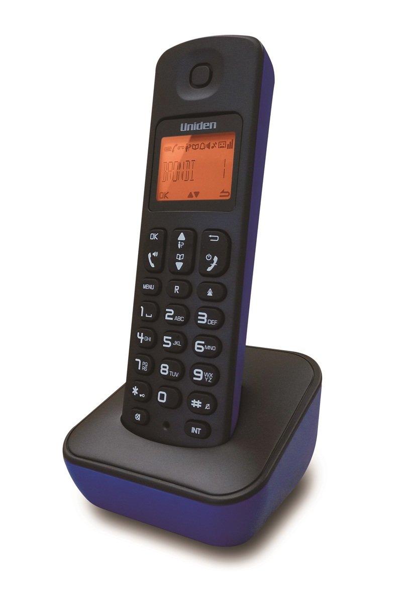 Uniden日本來電顯示免提室內數碼無線電話 , AT3100 藍色