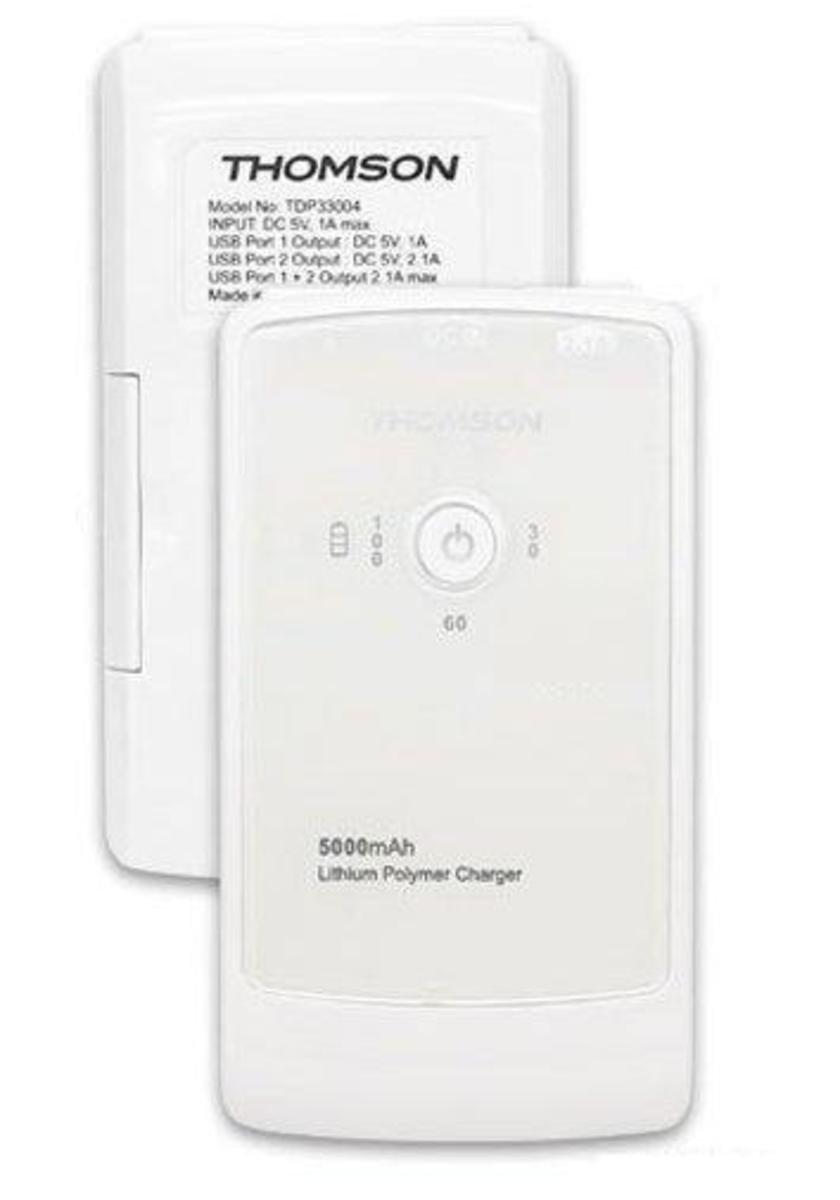 5000mAh 流動充電器, TH-TDP33004 白色