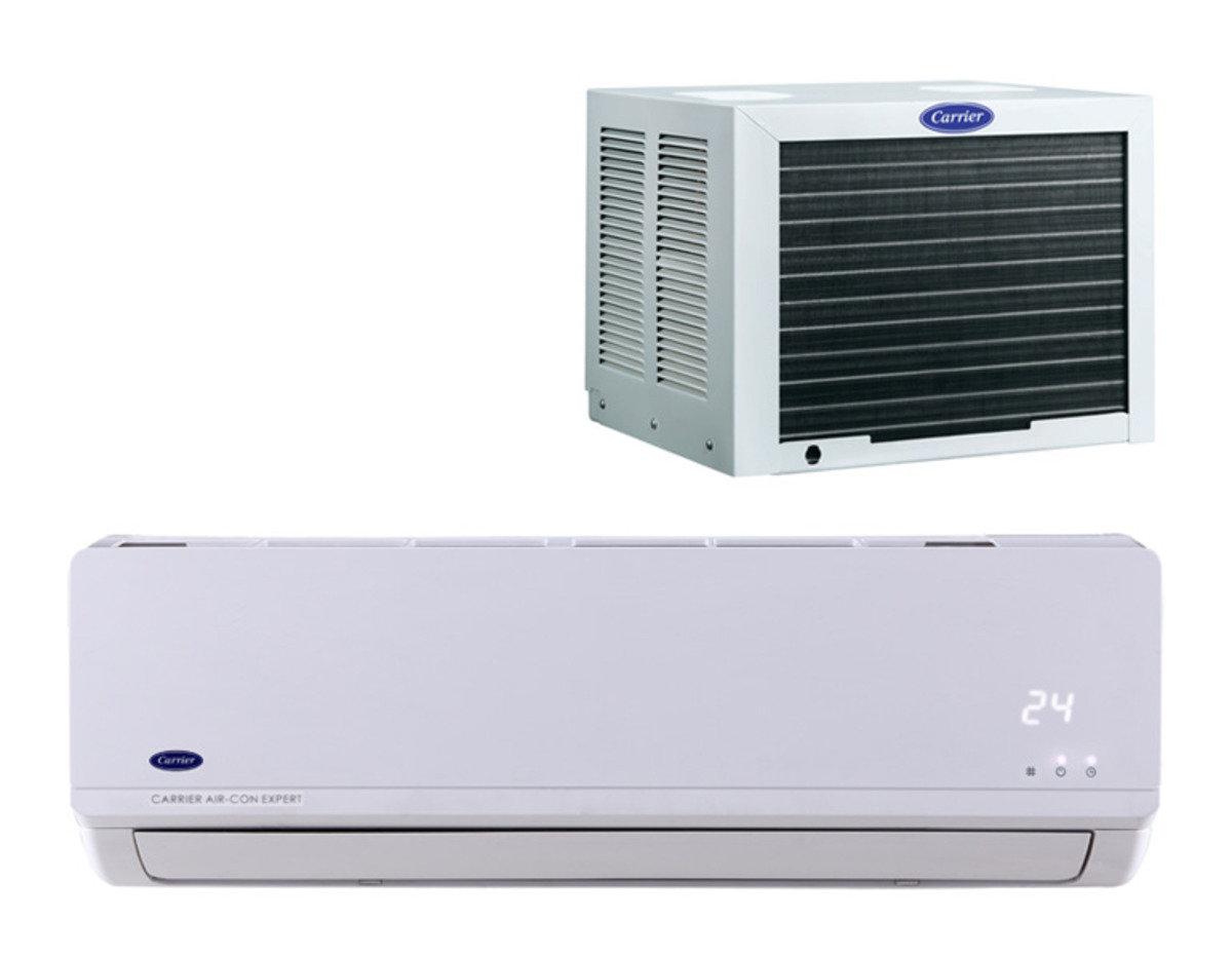 開利 3/4匹 窗口式分體冷氣[淨冷型] 42/38BG07 (原價$4680)