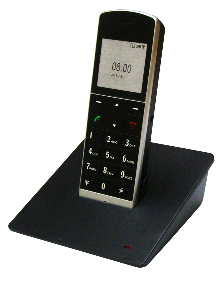 TELEGANCE 室內無線電話 DT910 (黑色)