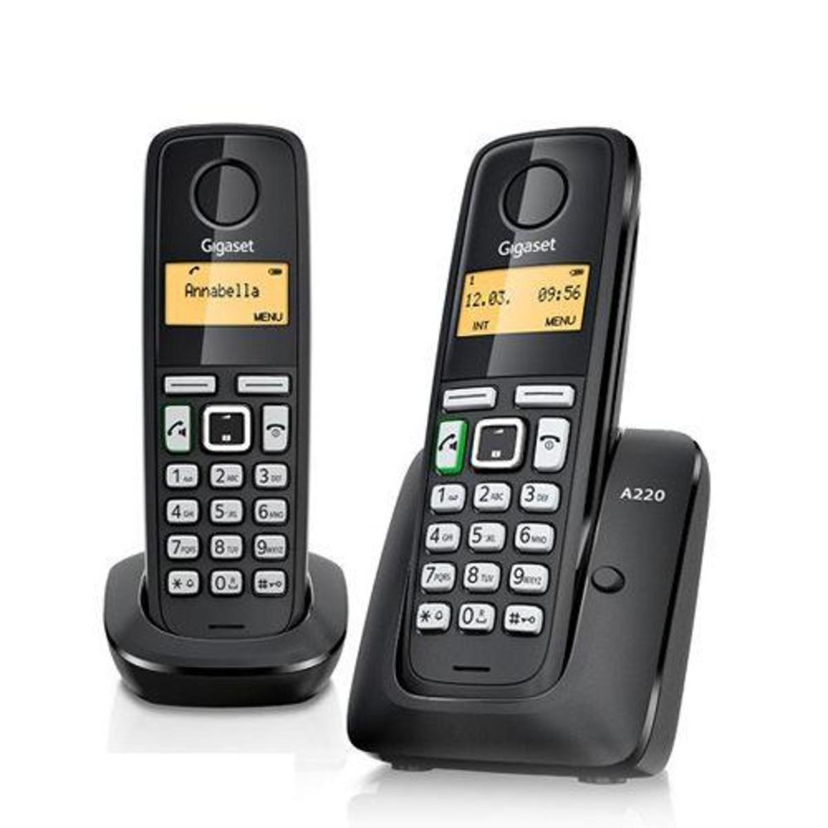 德國製室內無線電話 (子母機) A220 Duo