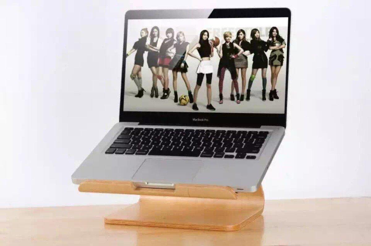 Macbook 木架