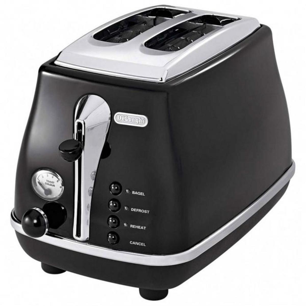 Delonghi ICONA Series Toasters, CTO 2003.BK