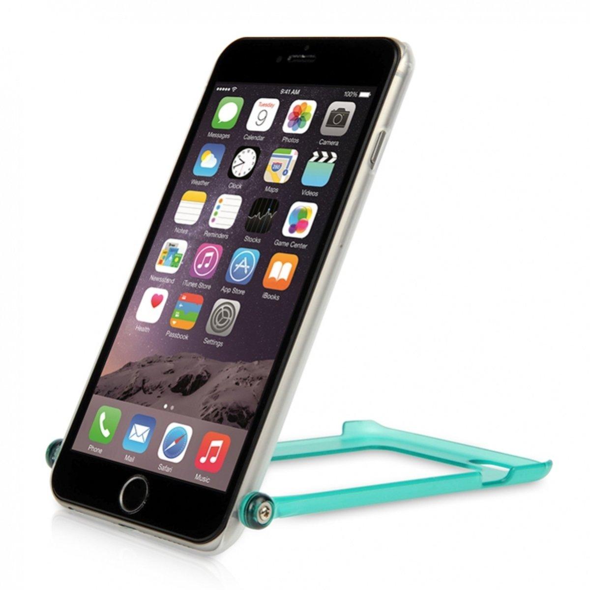 "Ahha iPhone 6 Plus (5.5"") 自拍手機殼 湖水綠"