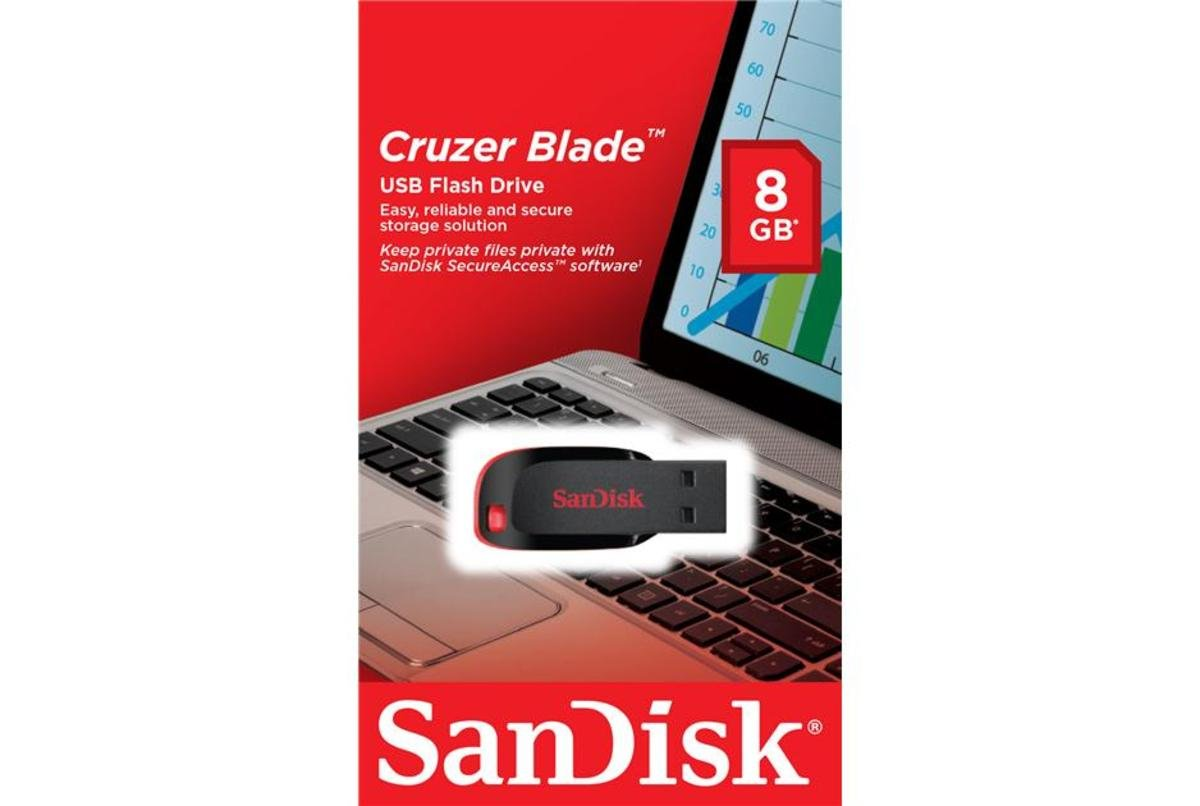 Cruzer Blade 記憶手指 SDCZ50 - 8GB