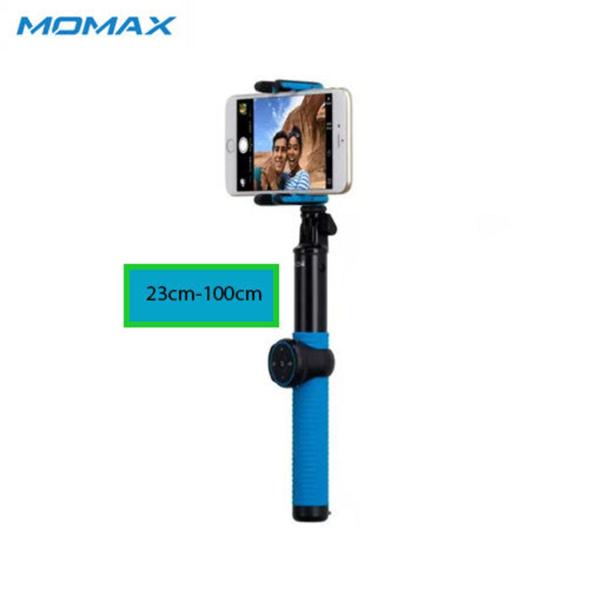 自拍桿 100cm - 藍