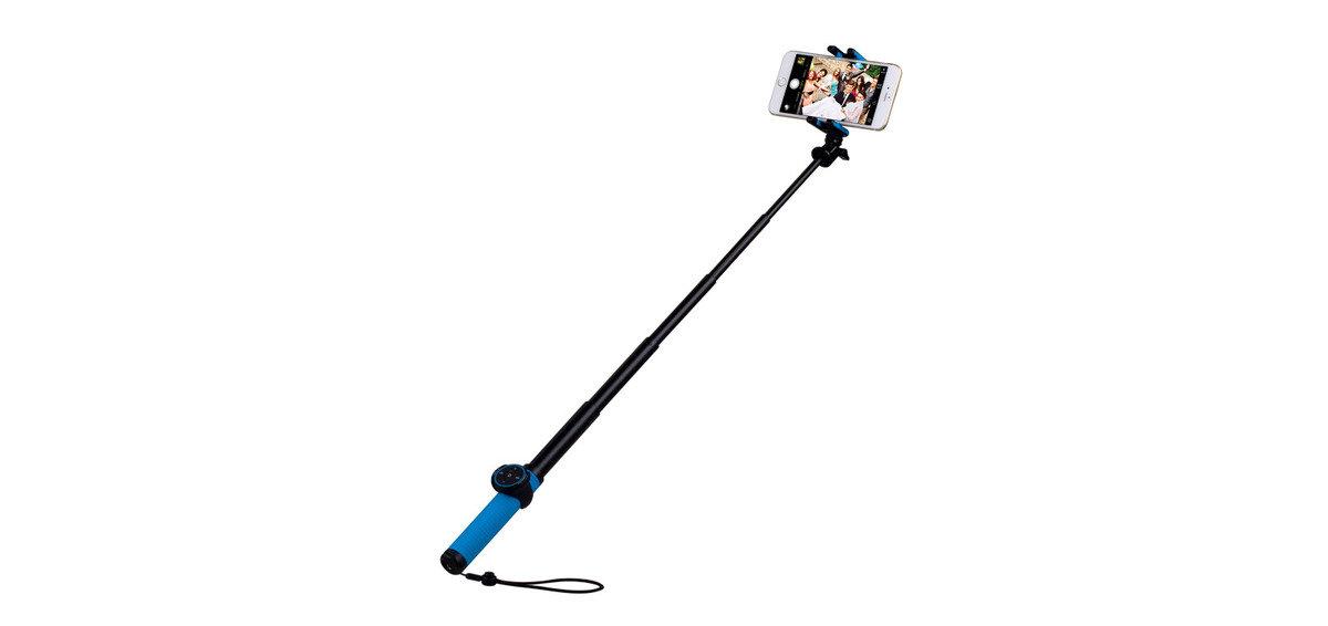 自拍桿 50cm - 藍