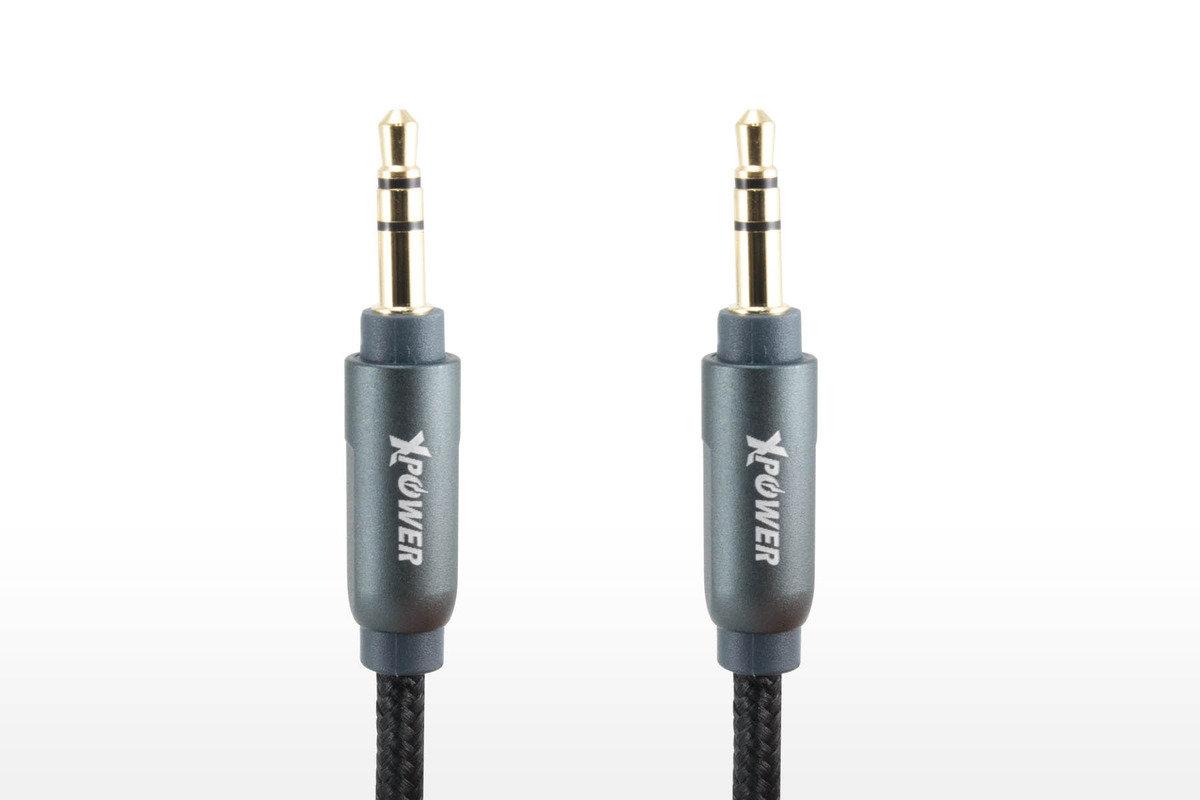尼龍音頻線 1.2米 - 黑