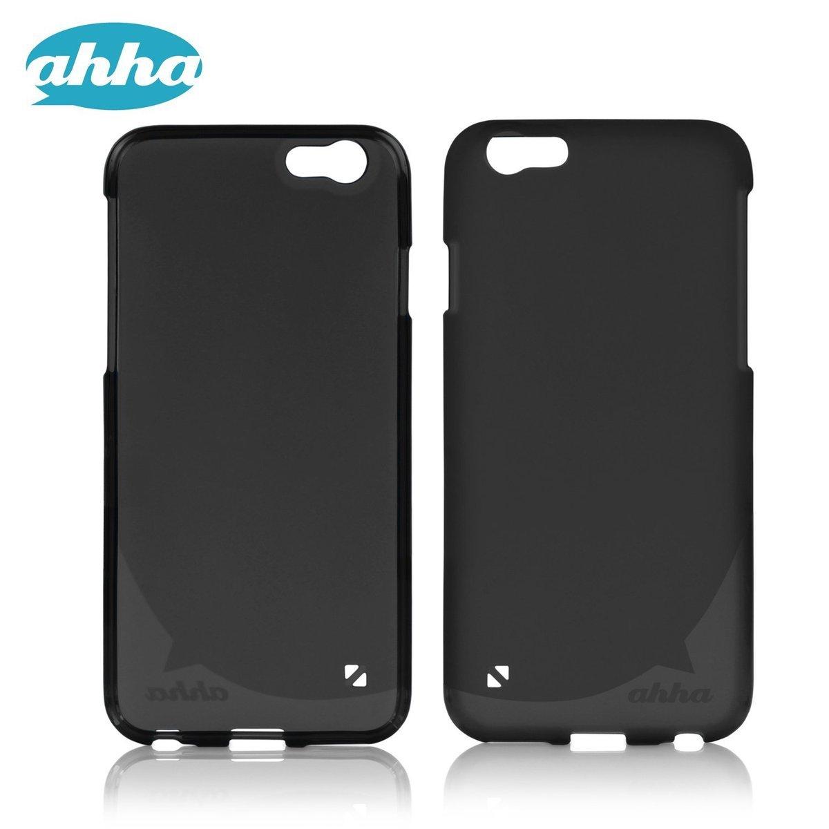 iPhone 6 / 6S 軟膠手機套 - 黑色