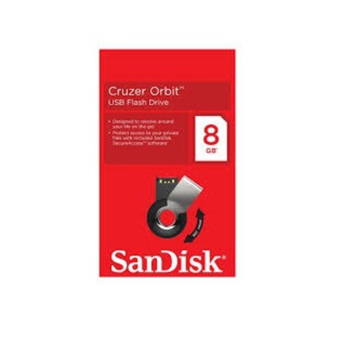 Cruzer Orbit SDCZ58 USB 旋轉蓋記憶手指