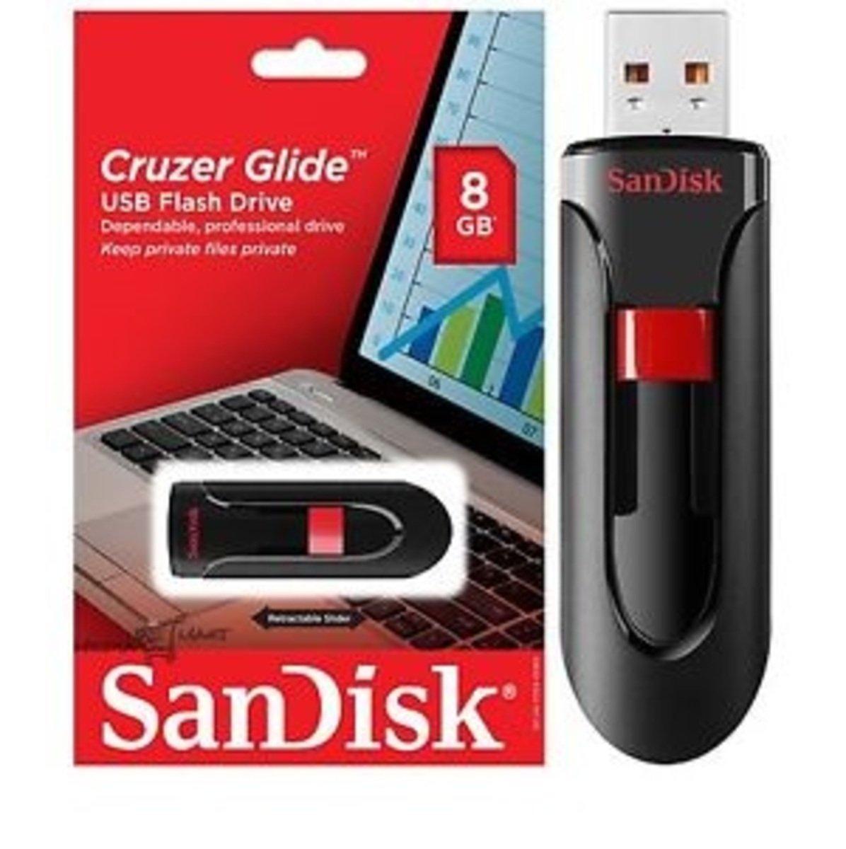 SDCZ60 Cruzer Glide 8GB USB 手指