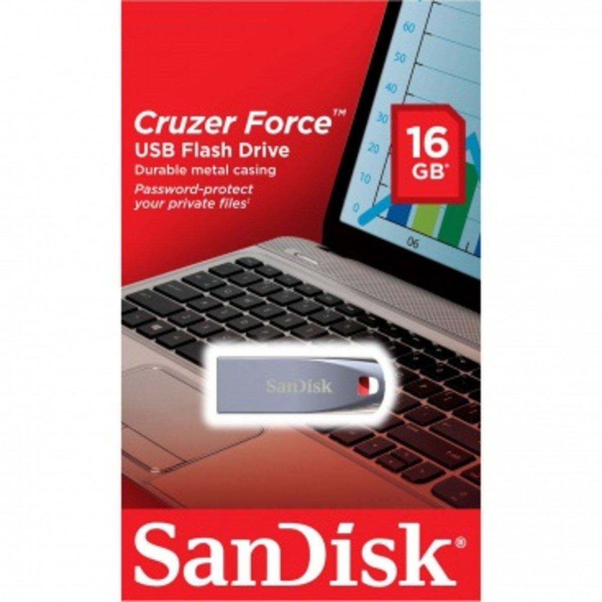 Cruzer Force SDCZ71 USB 金屬外殼記憶手指