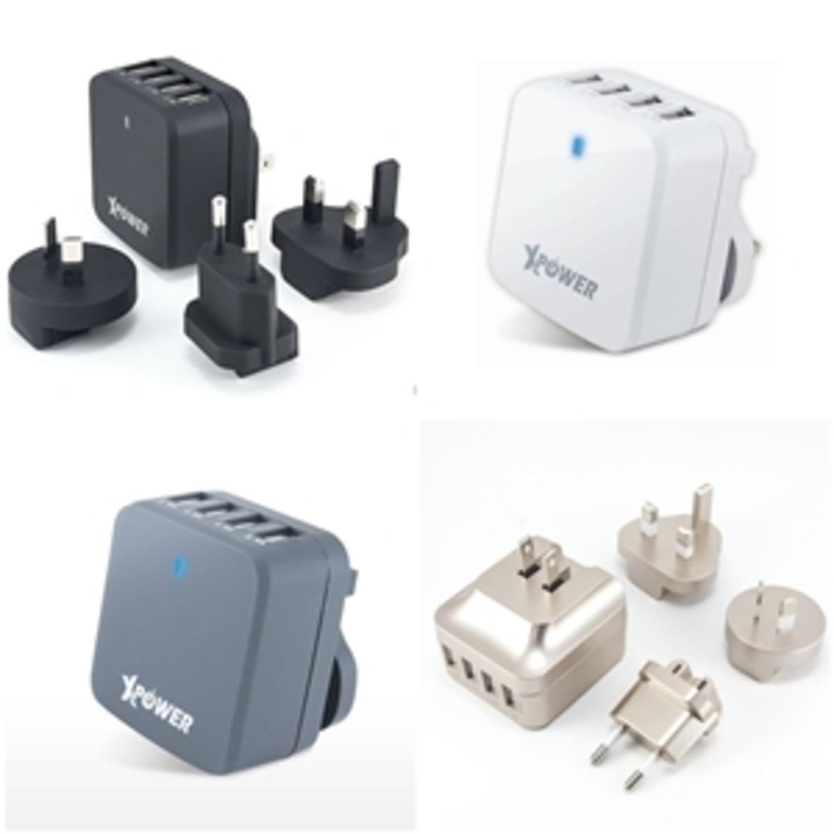X4WT 智能旅行充電器