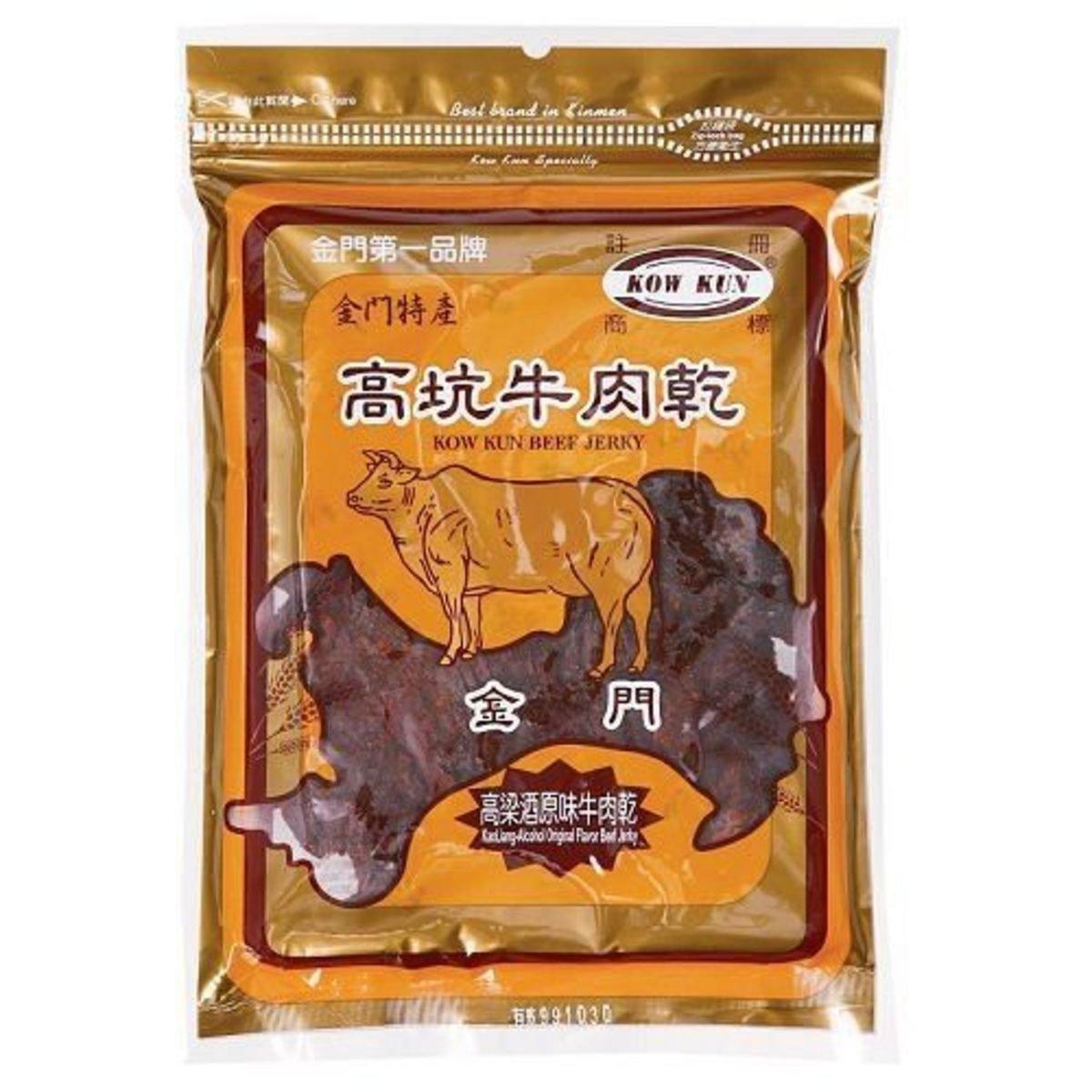 高坑高梁酒原味牛肉乾(190克)#