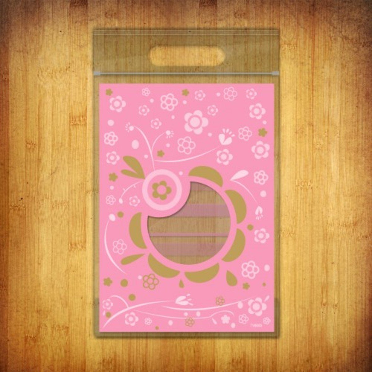 PP夾鏈袋-(花語-粉色10個裝)