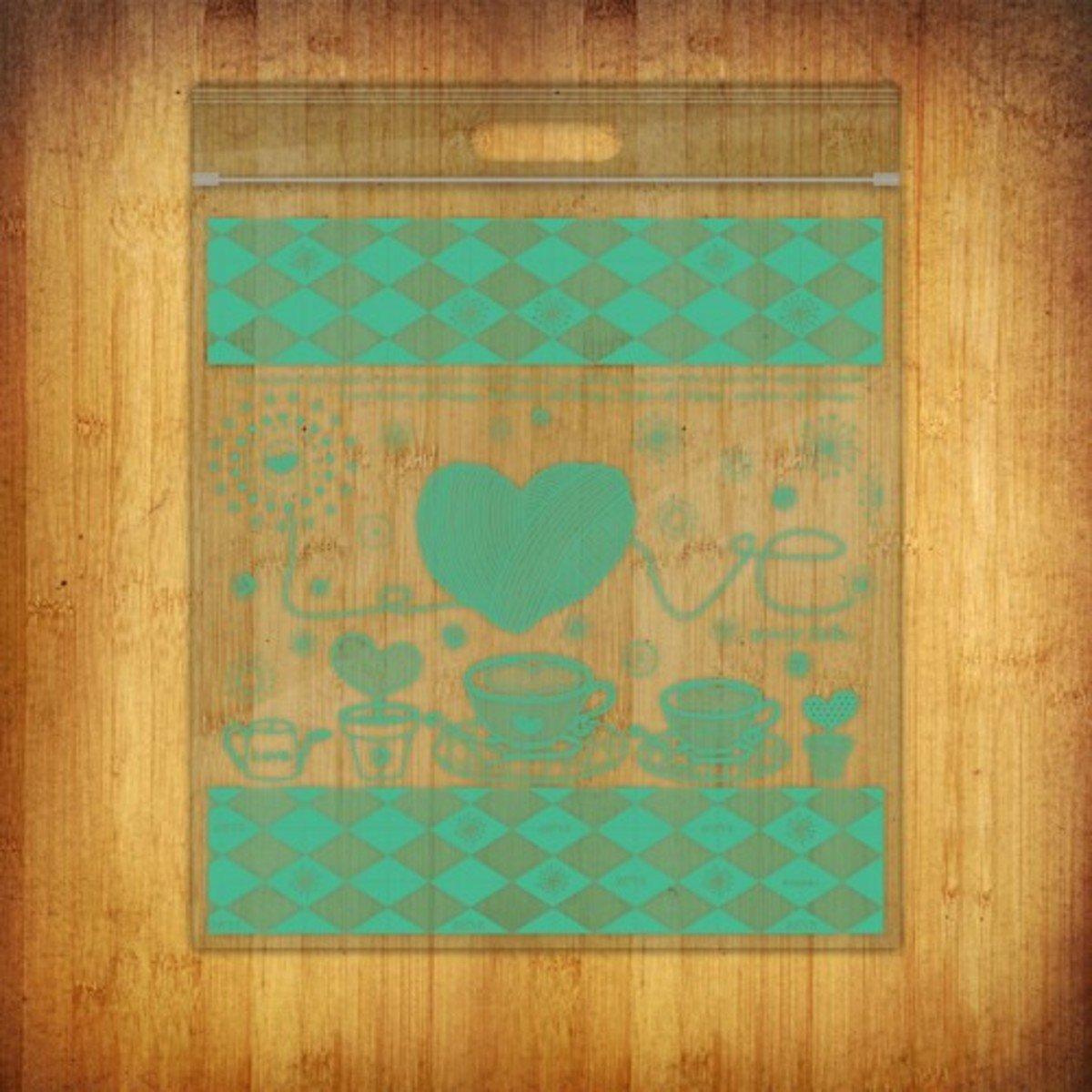 PP夾鏈袋-(愛加倍-綠10個裝)