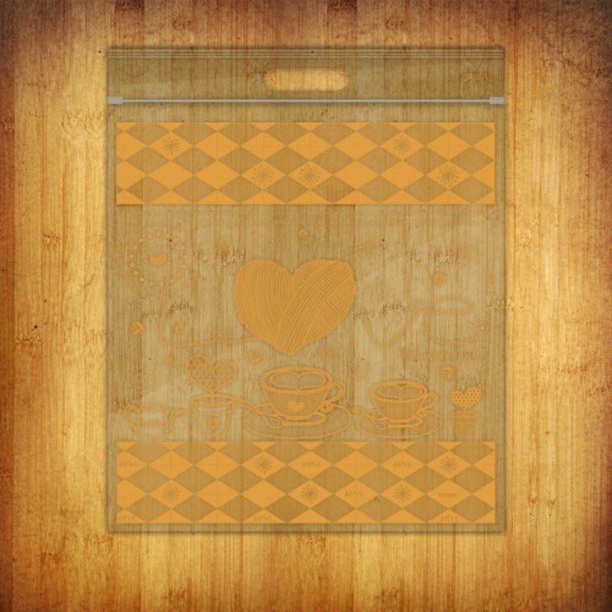 PP夾鏈袋-(愛加倍-橘10個裝)