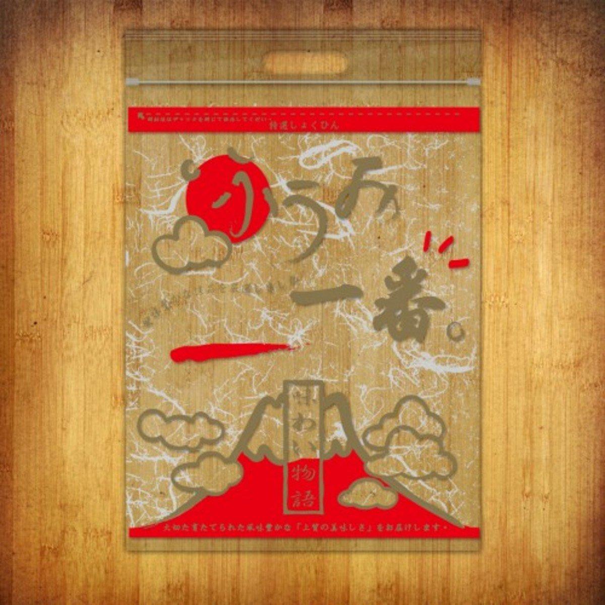 PP夾鏈袋-(富士山-紅色10個裝)