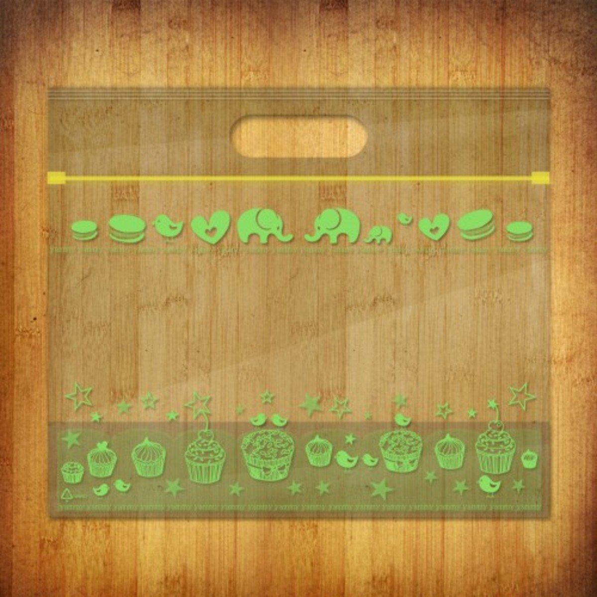 PP夾鏈麵包/食物袋-(雅比美物-綠野仙蹤10個裝)