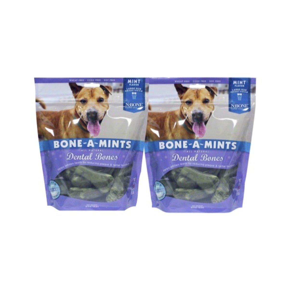 美國 BONE-A-MINTS 薄荷味潔齒骨家庭裝2包(大)26.76oz/包