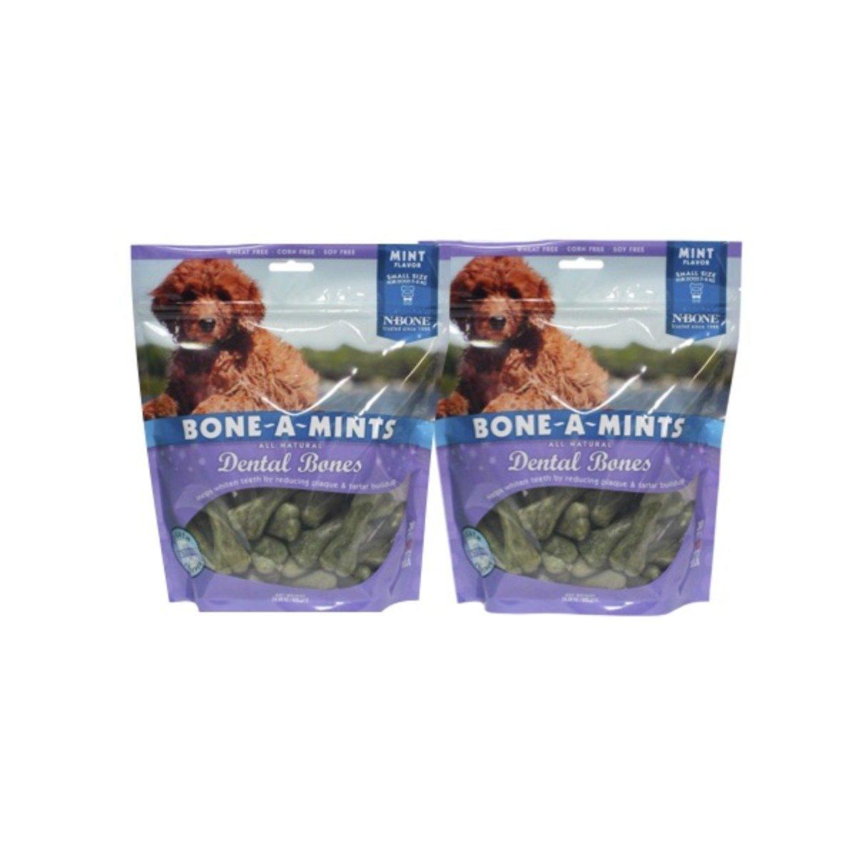美國 BONE-A-MINTS 薄荷味潔齒骨家庭裝2包(細)24.3oz/包