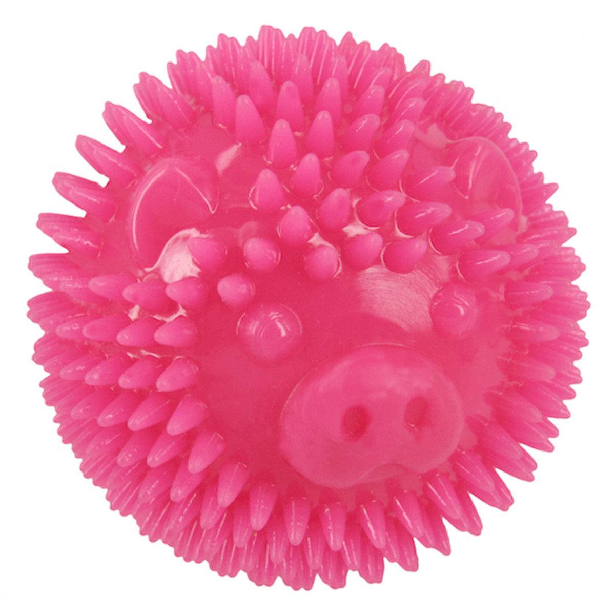 寵物潔齒球(豬、粉色)