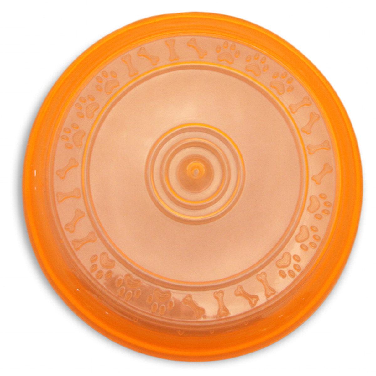 寵物訓練飛盤(橙色)
