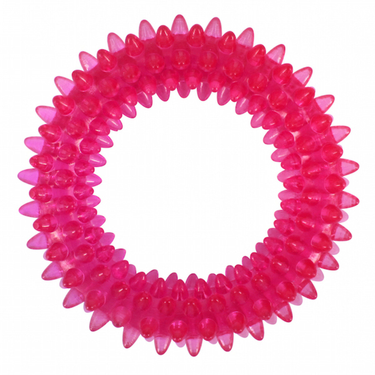 寵物潔齒圈(粉色)