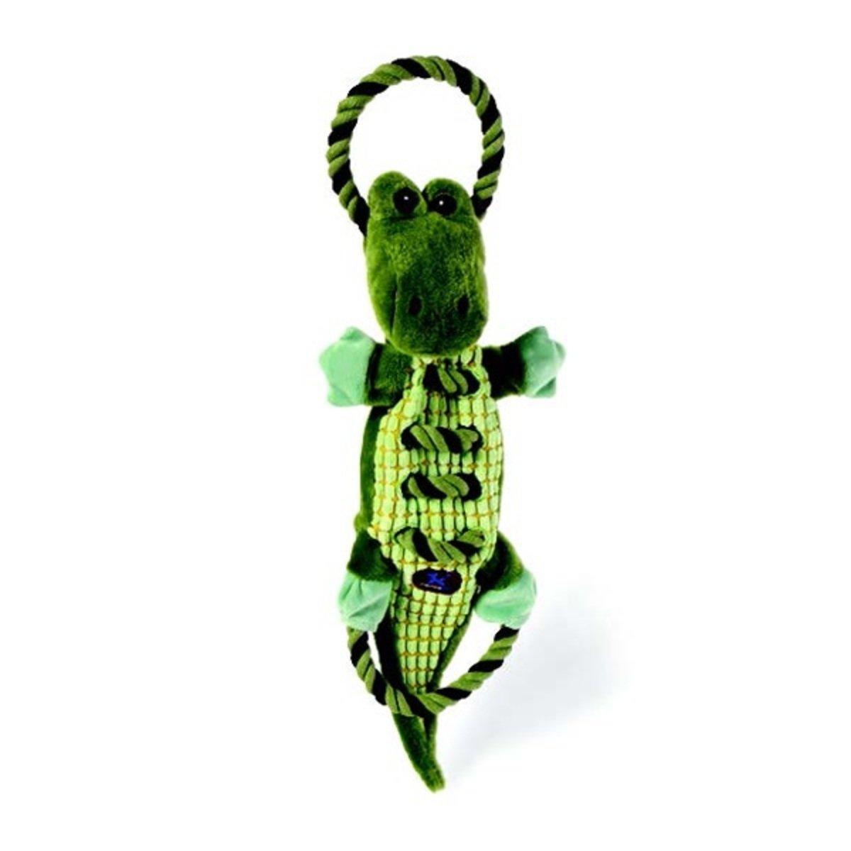 寵物耐咬拉繩發聲玩具 - 鱷魚