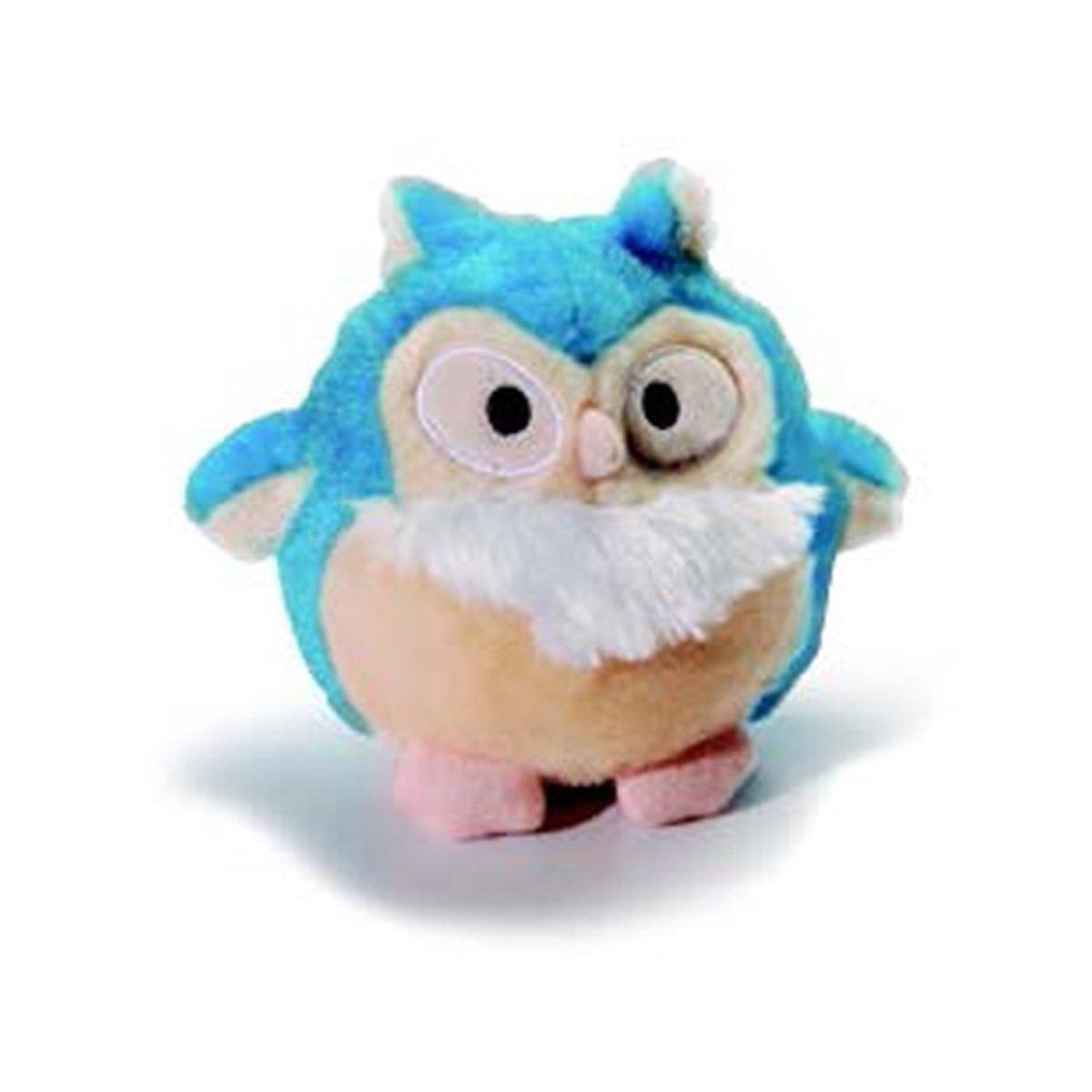 寵物貓頭鷹發聲玩具 - 藍色