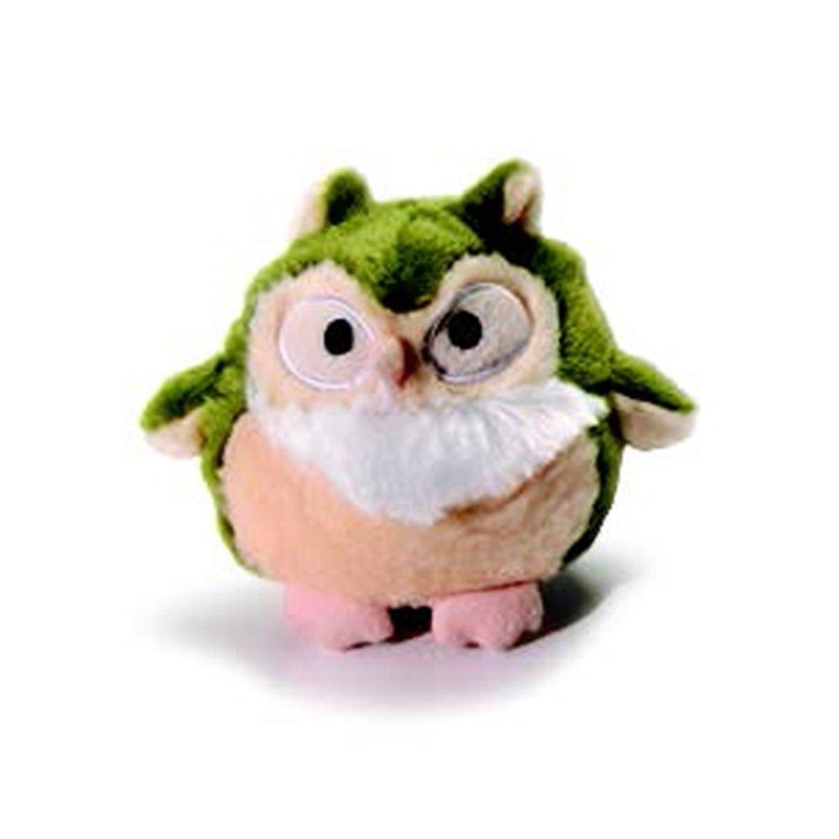 寵物貓頭鷹發聲玩具 - 綠色