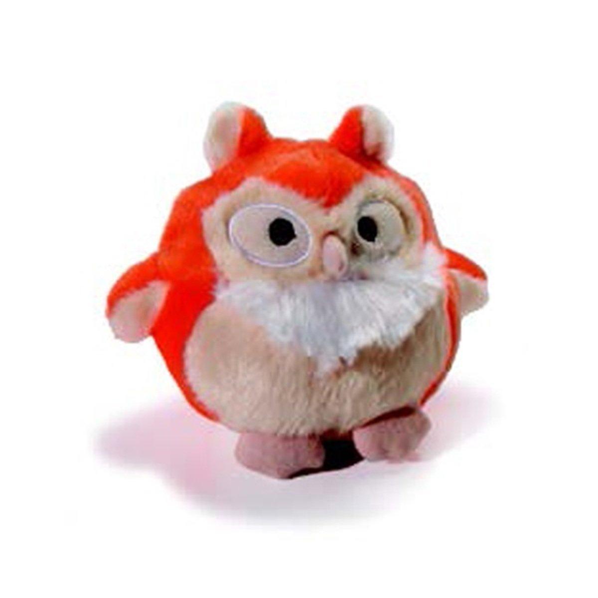 寵物貓頭鷹發聲玩具 - 橙色