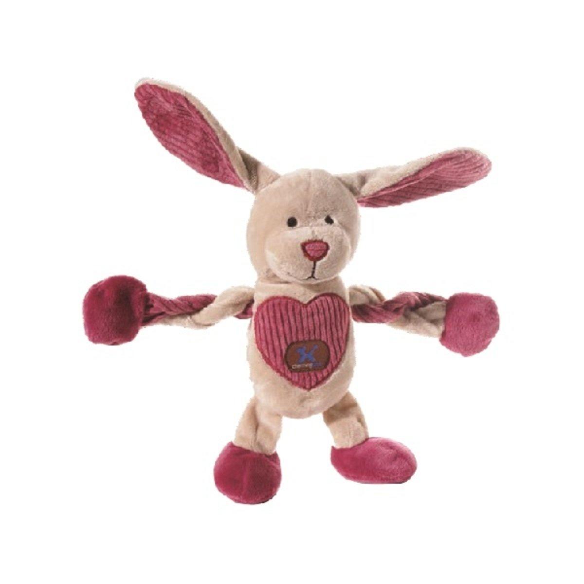 寵物可扭動發聲玩具 ﹣愛心兔