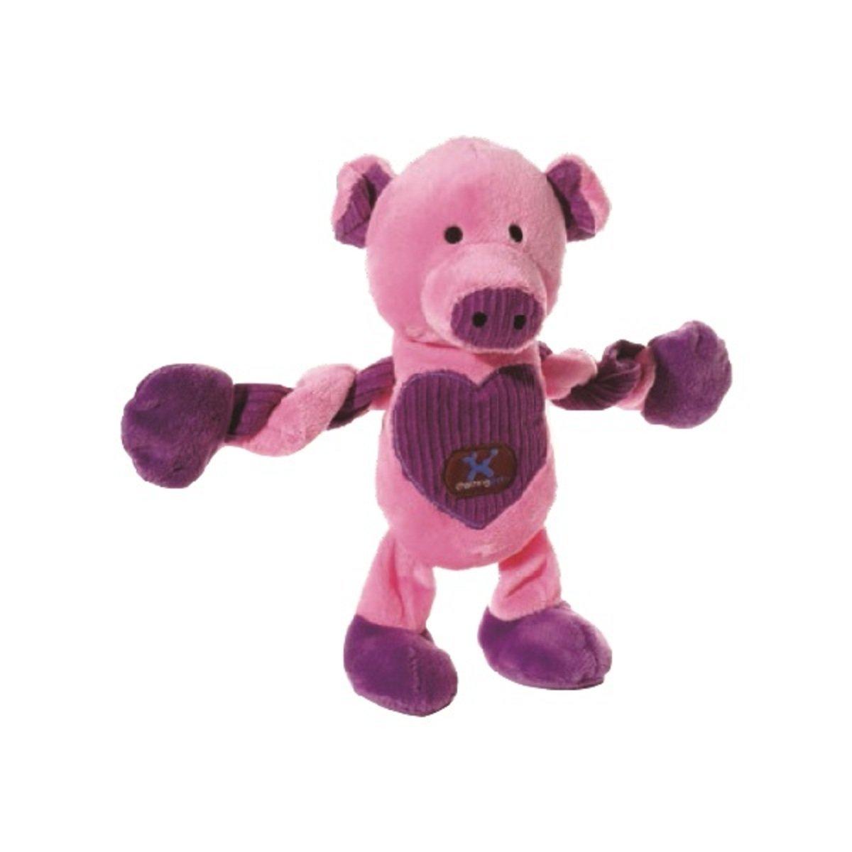 寵物可扭動發聲玩具 ﹣愛心豬