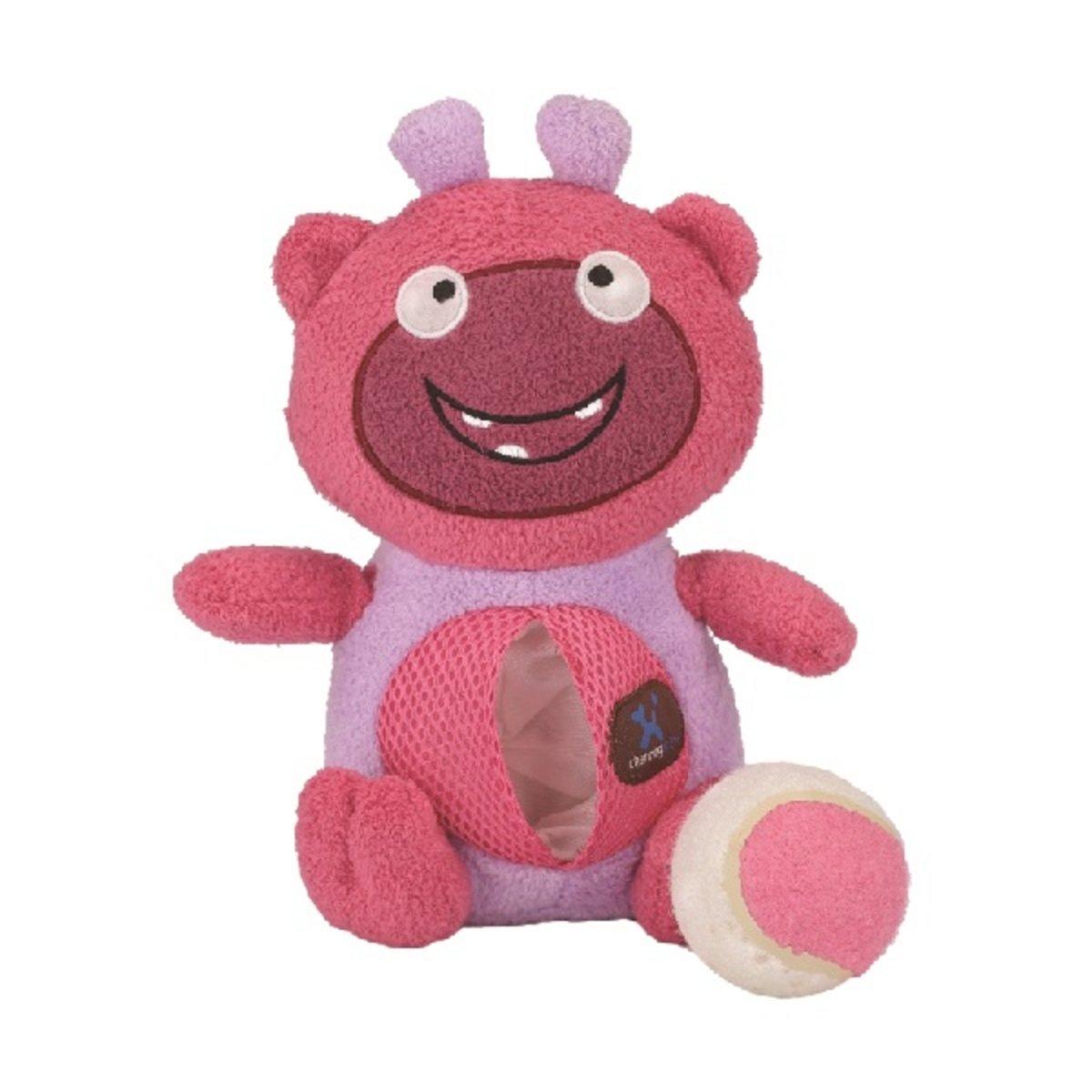 寵物腦力訓練發聲玩具 ﹣粉色怪獸