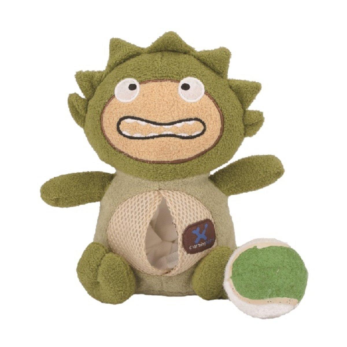 寵物腦力訓練發聲玩具 ﹣綠色怪獸