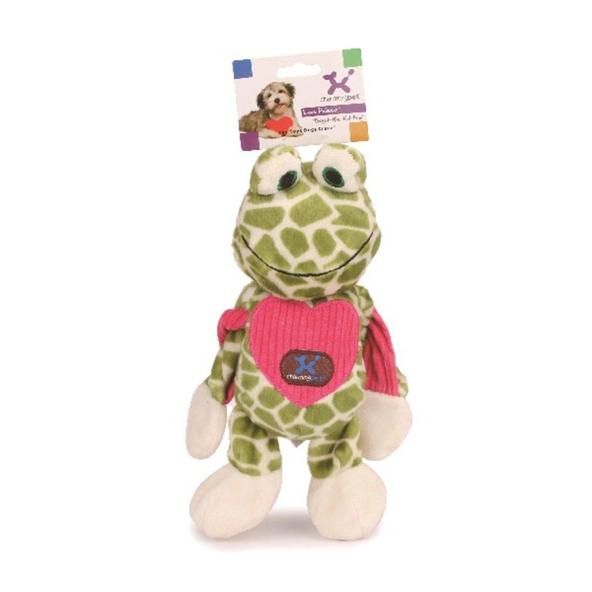 寵物可扭動發聲玩具 ﹣愛心青蛙