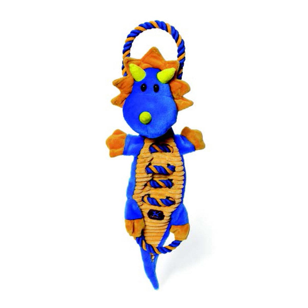 寵物耐咬拉繩發聲玩具 - 龍