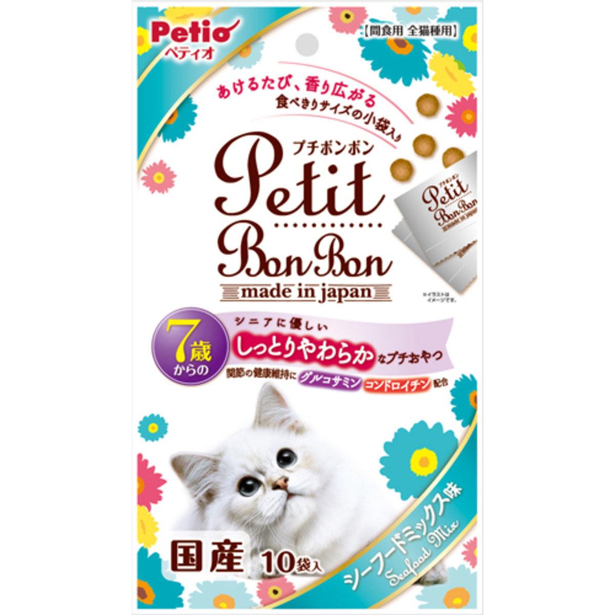 高齡貓小食雞肉粒(混合海鮮味)(W12867)(到期日:31/12/2016)
