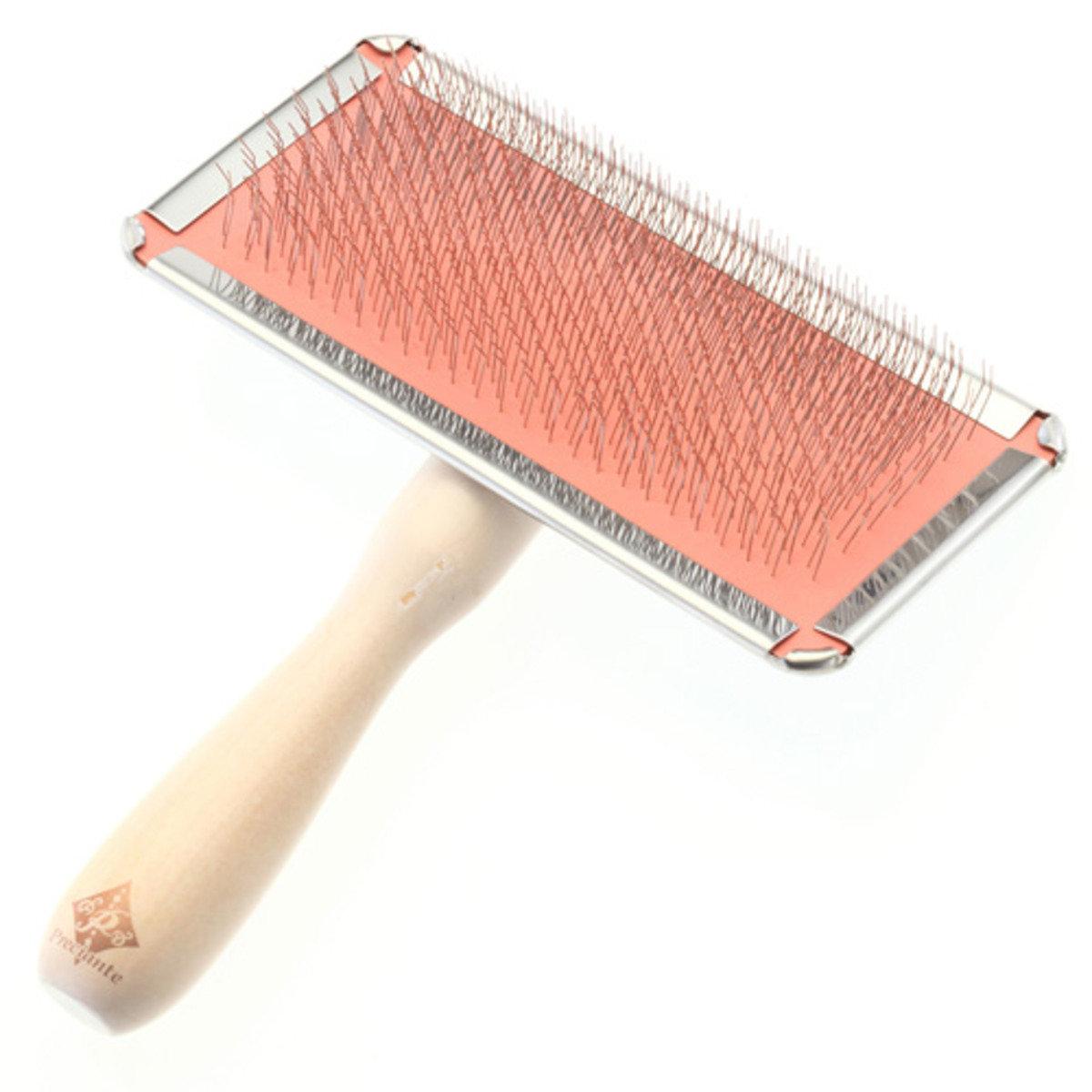 長毛貓犬專用有柄軟針梳(大)(W23880)